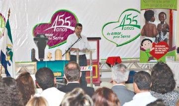 Serra lança concurso de desenho em comemoração aos seus 455 anos