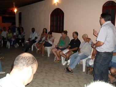 Bruno Lamas presta contas em Mata da Serra