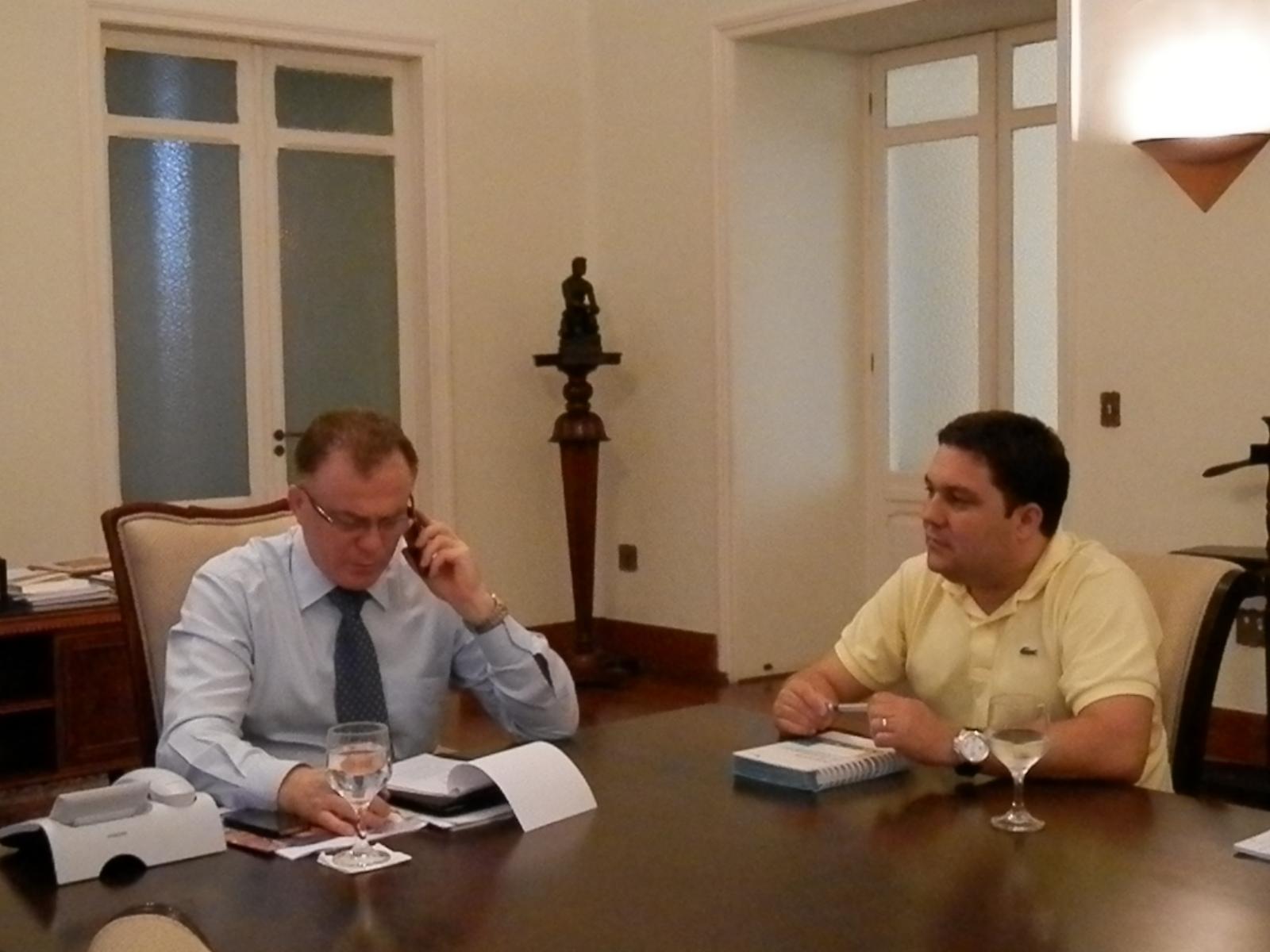 Vereador Bruno Lamas pede solução para a falta de segurança