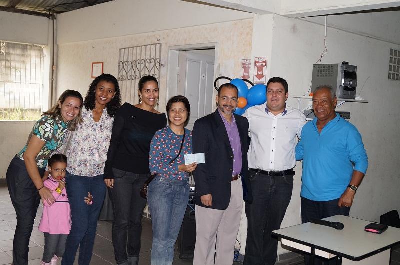 Lar Batista recebe doação de Bruno Lamas