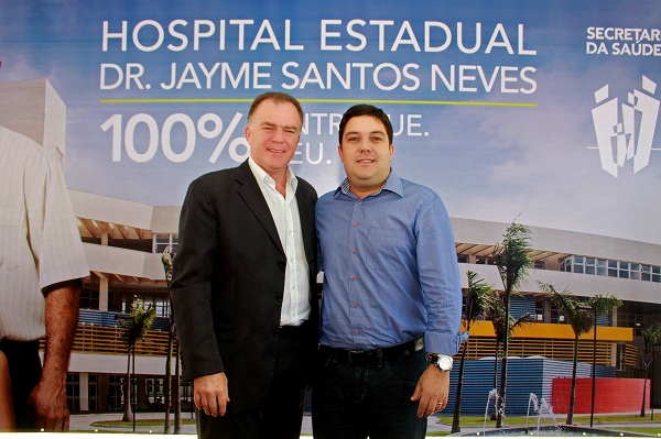 Governo entrega todos os serviços do Jayme Santos Neves