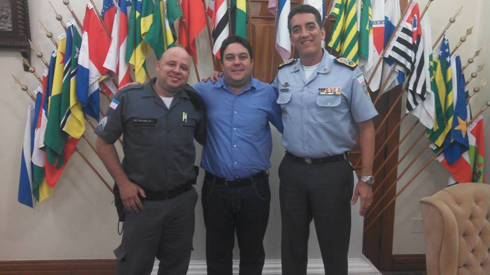 Bruno Lamas participa de audiência com Comandante Geral da PM