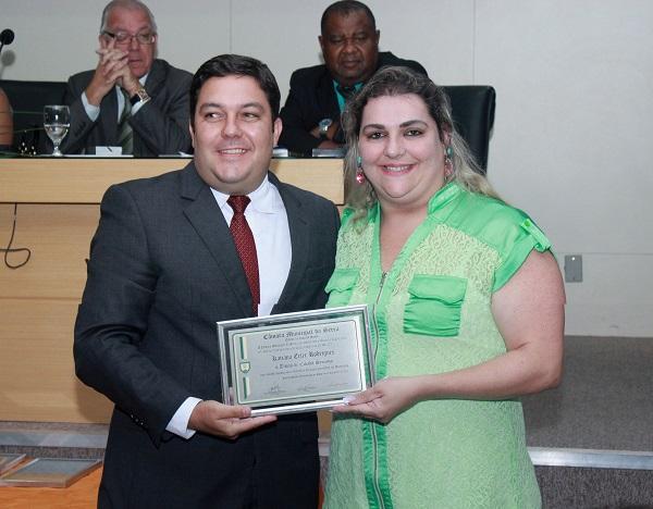 Bruno Lamas concede título de Cidadão Serrano a ilustres