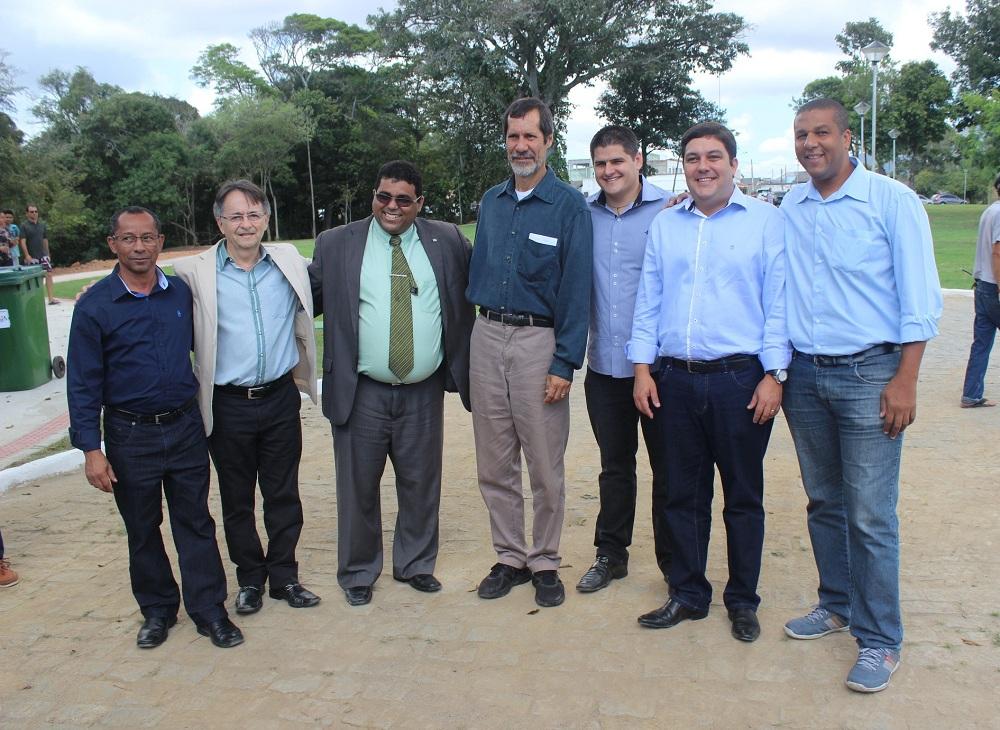 Bruno Lamas participa de inauguração da APA Jacuném