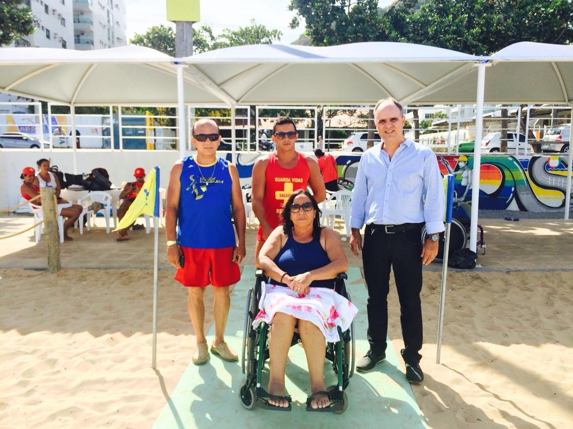 Novo 'Praia Legal' começa a funcionar em Vila Velha