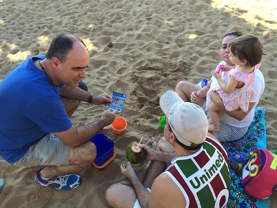 Vereador alerta sobre qualidade da areia nos parquinhos públicos