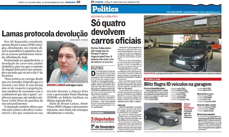 RESPEITO AO DINHEIRO PÚBLICO!