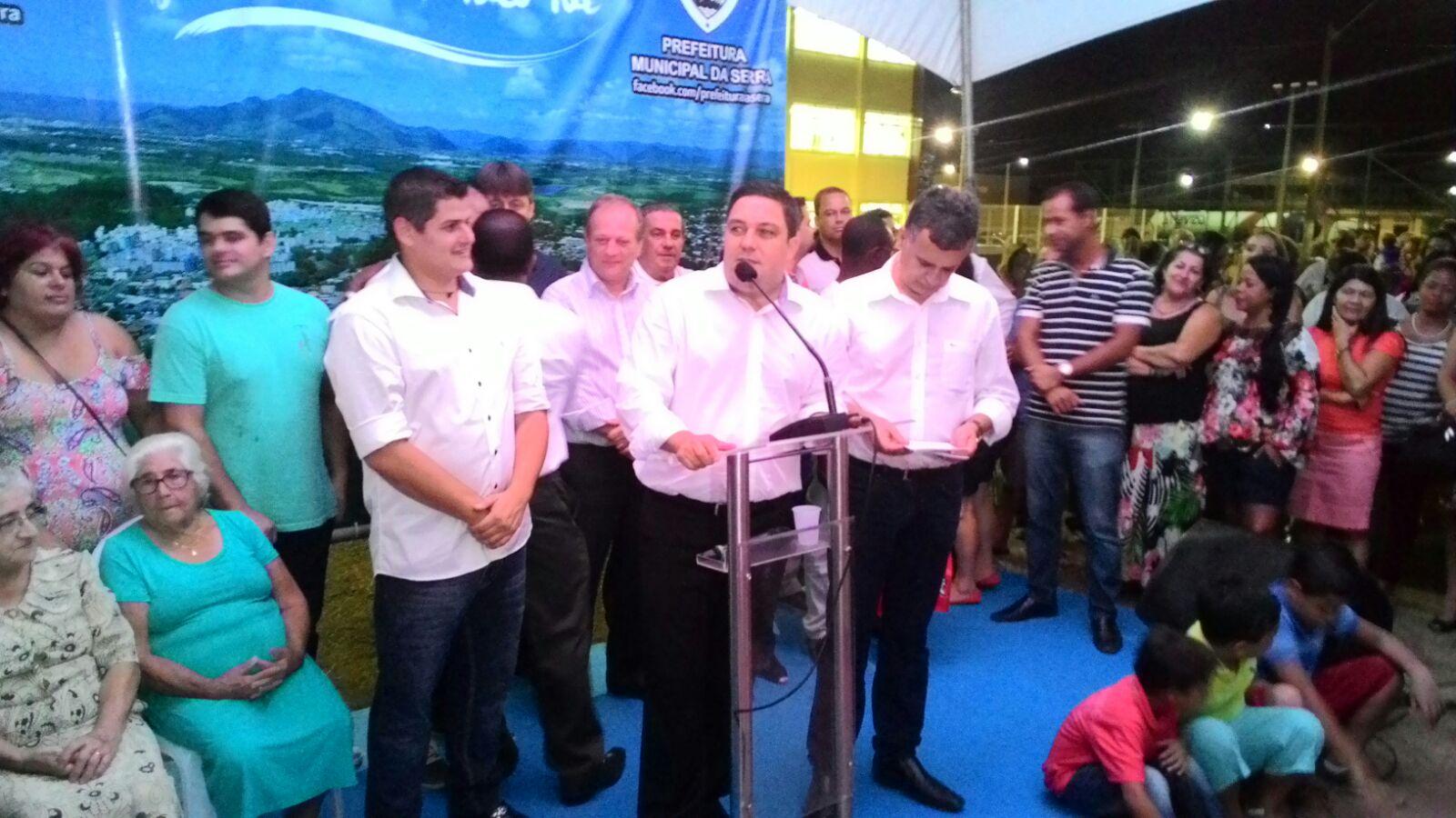Escola de Ensino Fundamental Abraão Gomes de Araújo é inaugurada