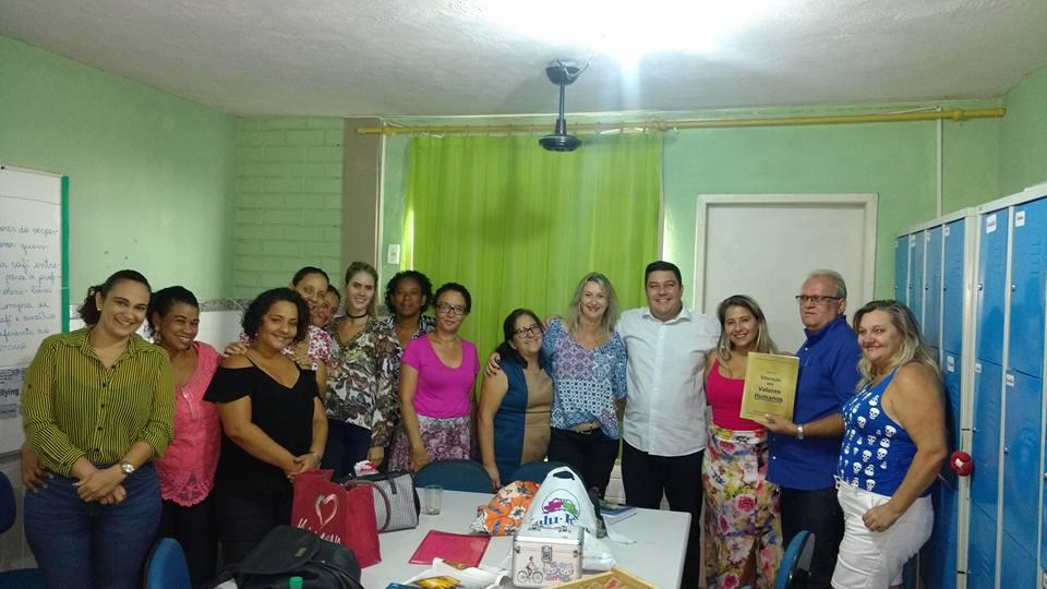 EDUCAÇÃO PRIORIDADE DE NOSSO MANDATO!