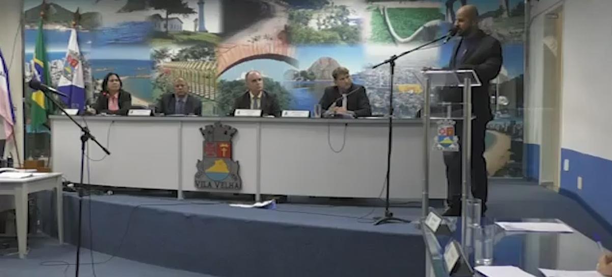 Chiabai recebe reivindicações de representante da Guarda Municipal em Tribuna Livre da CMVV