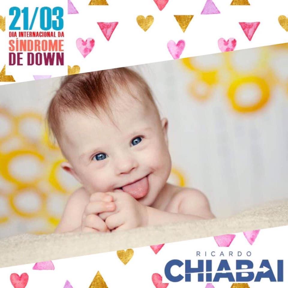 21/03 - Dia Internacional da Síndrome de Down