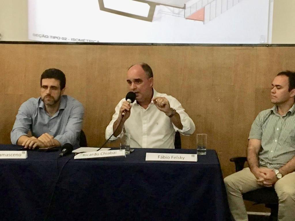 Apresentamos ao morador da nossa querida Vila Velha o projeto de ampliação da capacidade de tráfico e implantação da ciclovia na 3ª ponte.