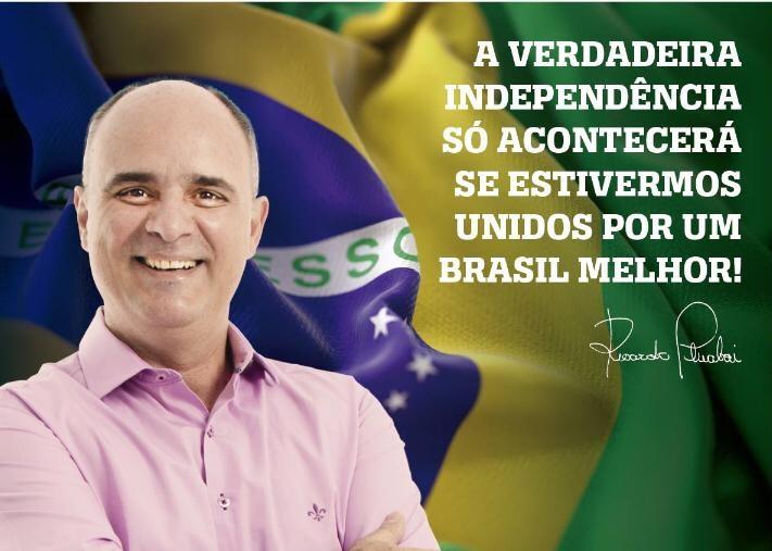 É preciso repensar e dar um novo sentido ao que queremos. Pois somente unidos conseguiremos avançar! #Fazerdiferente #Juntos #BrasilMaior