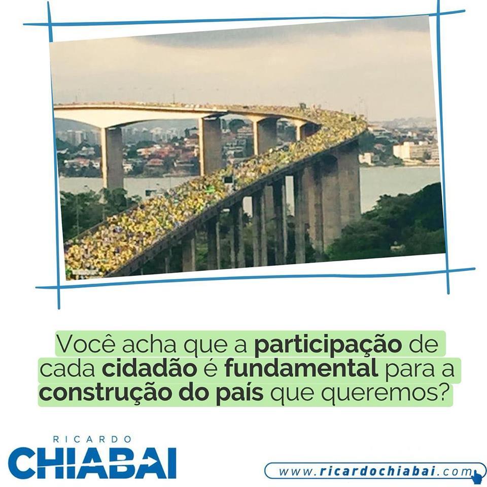 Você acha que a participação de cada cidadão é fundamental para a construção do país que queremos?