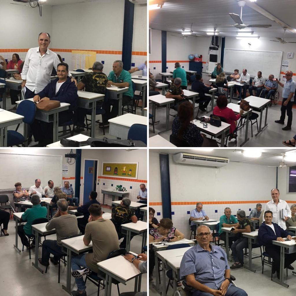 Na reunião do Cidadania23 de Vila Velha, o Diretório Municipal reiterou a indicação do meu nome para a pré candidatura a prefeito no ano que vem