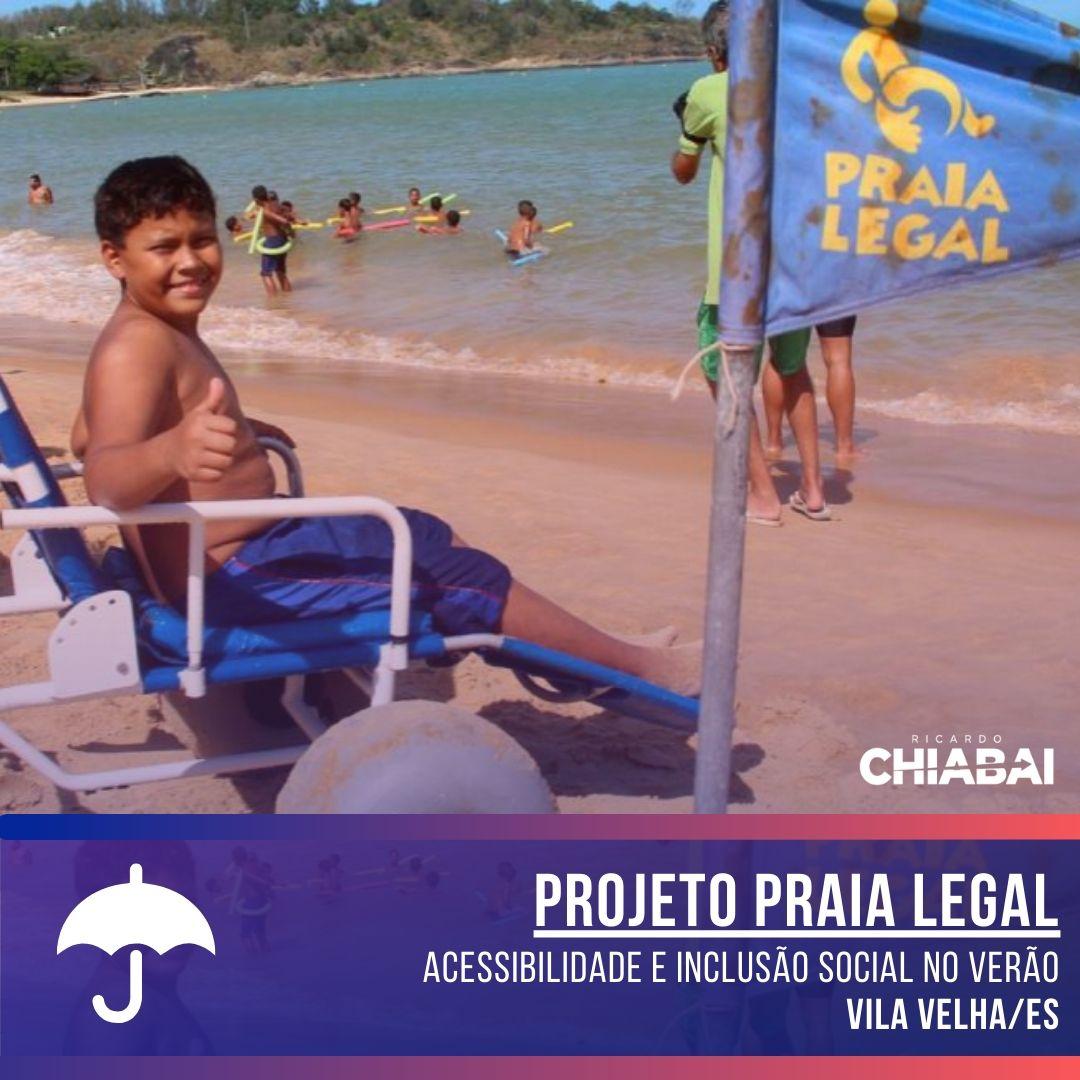 Conheça o Projeto Praia Legal