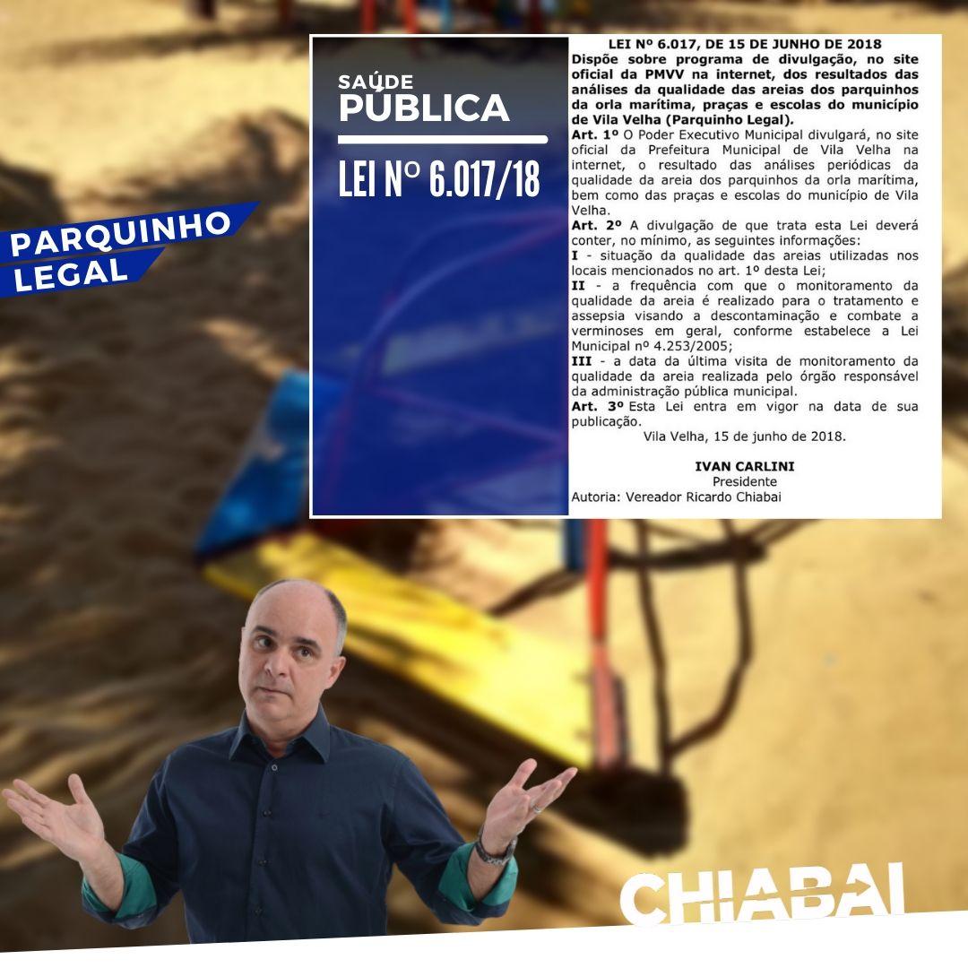 PARQUINHO LEGAL - A Lei que deveria proteger os seus filhos nos parquinhos e praças de Vila Velha