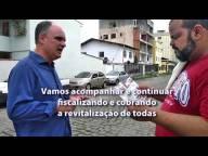 Ricardo Chiabai cobra revitalização de ruas na Praia da Costa e Itapuã