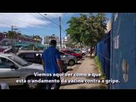 Chiabai fiscaliza Posto de Saúde de Coqueiral de Itaparica