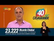 Propaganda eleitoral 2018 Chiabai 23222 Deputado Estadual