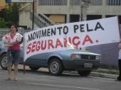 Manifestaçao em Jacaraípe