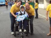 Desfile Cívico da Apae de Vila Velha em comemoração ao dia 7 de setembro