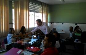 Visita a Escola Marinete de Souza Lira