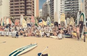 XIII Remada Contra a Poluição - Praia da Costa