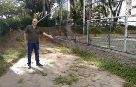 Problemas na Praça Agenor Moreira, Itapoã