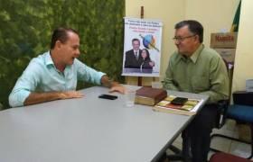 Reunião com Pastor Evaldo Cassoto, Presidente da Comaderj - ES (Convenção das Assembleias de Deus)