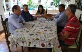 Visita ao Município de Alegre acompanhado do Vereador Delandi Macedo de Cachoeiro de Itapemirim, fomos recebidos pelo Ver Marquinhos (PSC), presidente do PSC Samuel e do prefeito José Guilherme!