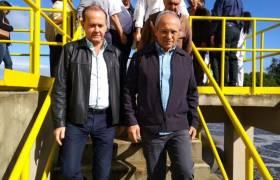 Início da operação de Obras de Saneamento em Vila Velha