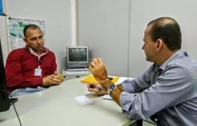 Visita ao Diretor da Ciretran no Município de Aracruz