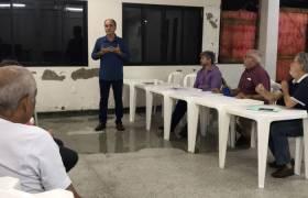 Reunião sobre Segurança Pública - Associação de Moradores da Praia da Costa