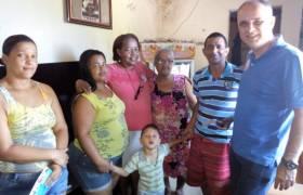 Com amigos em Rio Novo do Sul