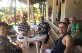 Encontro com amigos em Guarapari