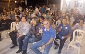 Reunião com amigos em Jardim Marilândia
