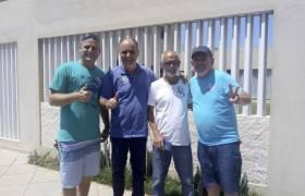 Reunião com amigos em Guarapari