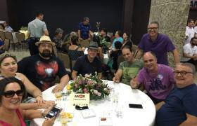 Com amigos em evento em Itaparica, Vila Velha