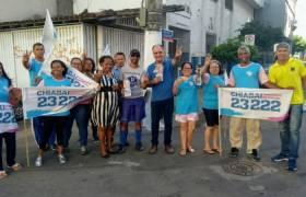 Caminhada com lideranças em São Torquato