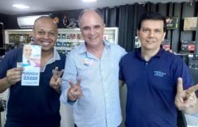Visita à empresa em Jardim da Penha, Vitória