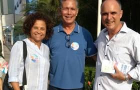 Visita a amigos de comércio em Itapuã e Praia da Costa, Vila Velha.