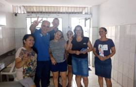 Visita à fabrica em Santa Ines, Vila Velha