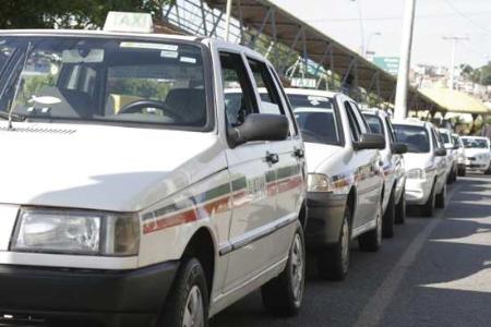 Táxis do município serão padronizados