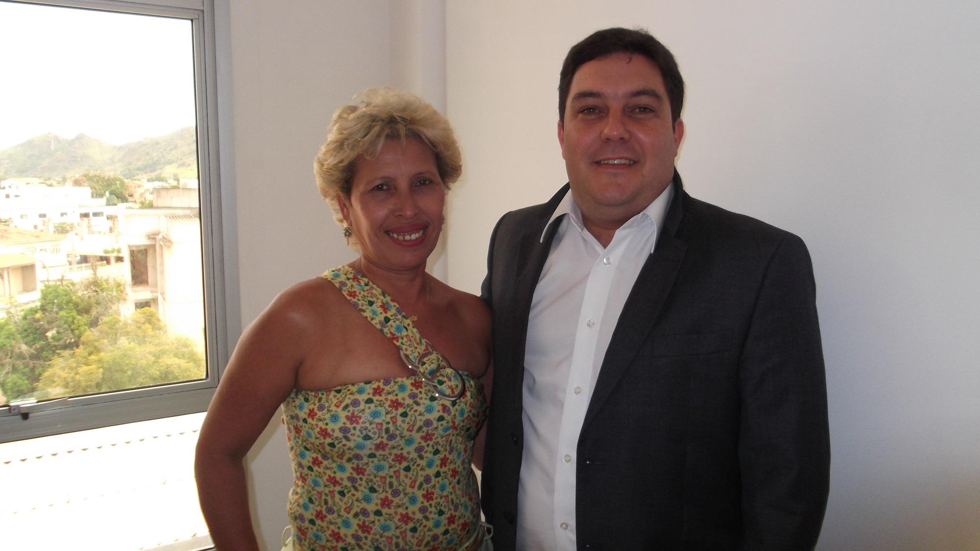 Vereadora de Fundão visita gabinete de Bruno Lamas