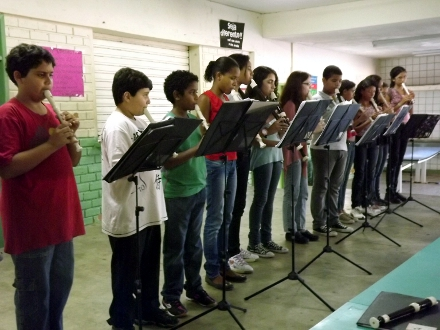 Flauta Mágica será o primeiro contemplado por doação de Bruno Lamas