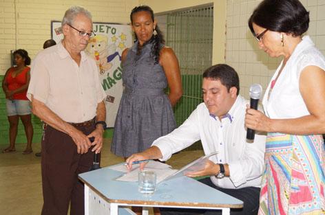 Projeto de Feu Rosa é beneficiado com doação do vereador Bruno Lamas