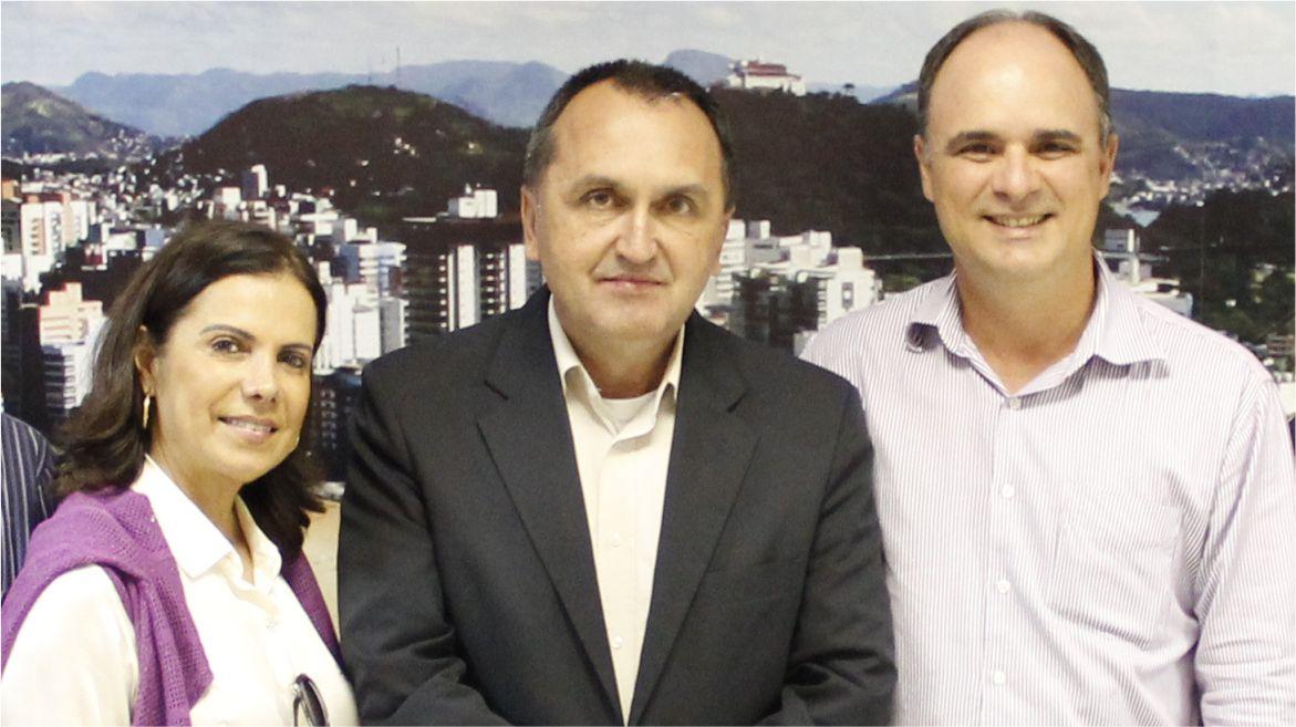 Vereador Chiabai e Apae de Vila Velha se reunem com o prefeito Rodney Miranda