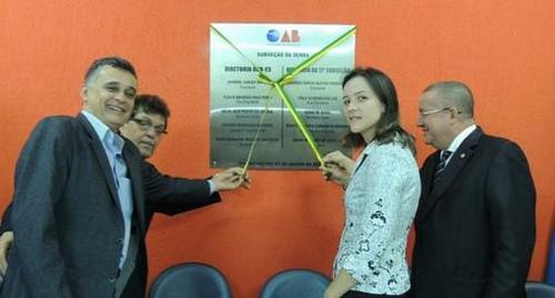 Inaugurada a subseção da OAB na Serra