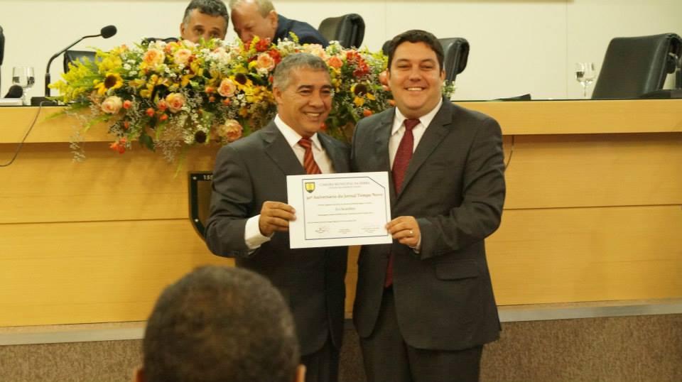 Bruno Lamas homenageia o Tempo Novo